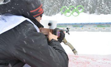 Wenn der Sportplatz verschneit ist: Biathlon begeistert im Winter die Massen